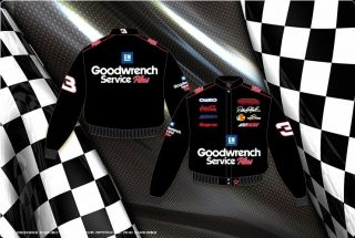 2012 Dale Earnhardt Sr. GM Goodwrench Mens Nascar Jacket DEO303 GDWO