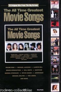 MICHAEL JACKSON MOVIE SONGS PROMO POSTER LAURYN HILL