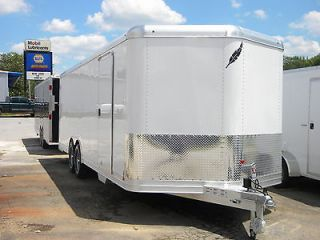 2013 Featherlite 24 White Aluminum Car Trailer Model 4926 7