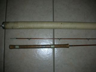 bamboo fishing rods in Vintage