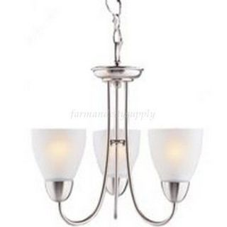 brushed nickel light fixture in Chandeliers & Ceiling Fixtures