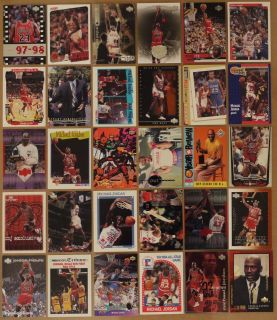 RARE INVESTMENT LOT OF 12 MICHAEL JORDAN & LEBRON JAMES (ROOKIE
