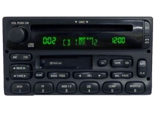 01 02 MERCURY Mountaineer FORD Explorer Mach Radio Stereo CD Player