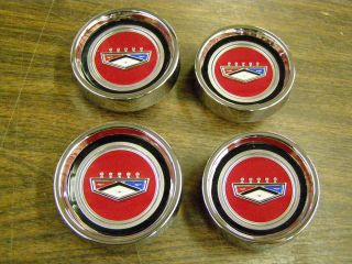 1966 Falcon Fairlane Styled Steel Hub Cap Center Cap (Fits Ford 500)