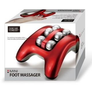 Mini Foot Massager With Six Soothing Massaging Rollers Feet Massage