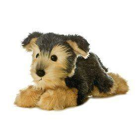 Yorky Yorkshire Terrier Dog Plush Stuffed Animal Toy