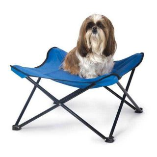 Manufacturing Cool Breeze Portable Pet Dog Bed Blue For hot