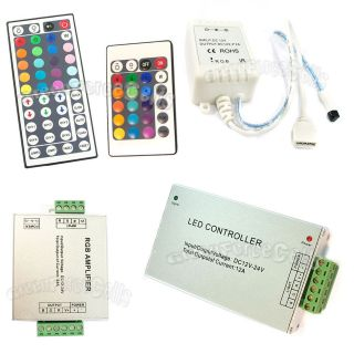 24 44 Key 2 4 6 8A amplifier IR Remote Control RGB 5050 SMD LED Light