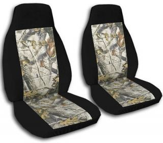 FORD ESCAPE SEAT COVERS BLACK & REAL TREE CAMO COMBO FRONT SET choose