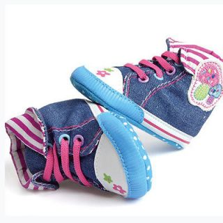 Mushroom Girl Baby Soft Soled Toddler Infant Shoes Sneakers 9 12 Month
