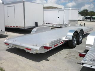 2013 Featherlite 24 Aluminum Open Car Trailer Model 3110