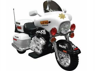 Patrol H. Police 12v Motorcycle Ride on Kids Toy Car Battery Operated