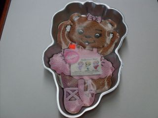 WILTON BALLERINA BEAR CAKE PAN  NEW
