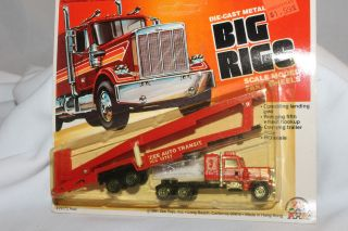 Zee Toys Big Rigs, Auto Transit Semi Truck, Mint on Card