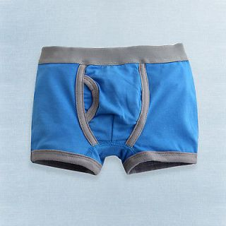 NWT Vaenait Baby Toddler Kid Underwear Boxer Brief 4 Color Blue Bot