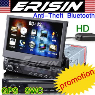 Erisin ES823G HD 7 1 din Detachable Car DVD player touch screen GPS