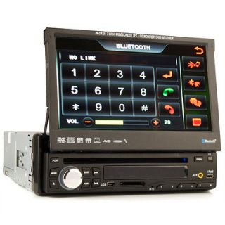DIN CAR STEREO DVD/CD//TV/​Radio/Ipod PLAYER Detachable Touch