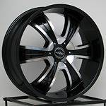 18 Inch Black Rims Wheels Ford Truck F 150 F150 Expedition American