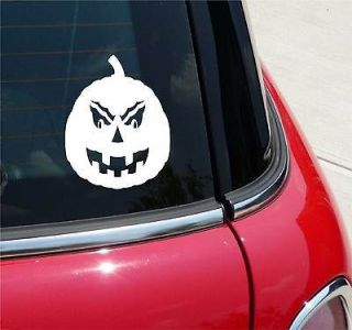 PUMPKIN HALLOWEEN FALL GRAPHIC DECAL STICKER VINYL CAR WALL