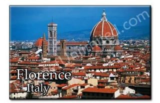 FLORENCE   ITALY Souvenir Photo Fridge Magnet #3