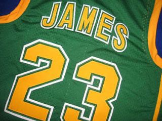 lebron james high school jersey in Sports Mem, Cards & Fan Shop