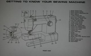 Montgomery Ward 1954 Sewing Machine Instruction Manual On CD