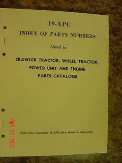 INTERNATIONAL HARVESTER FARMALL TRACTOR AND ENGINE PART INTERCHANGE
