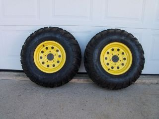 John Deere Gator, Carlisle AT 489 TIRES/Rims 25 x11x 12