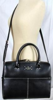 KATE SPADE Wellesley Kingston Black LEATHER Handbag Laptop BAG TOTE