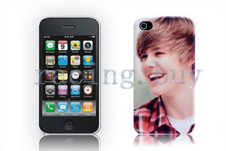 Boyfriend Fans Justin Bieber POP Star Hard Case Skin Cover For iPhone