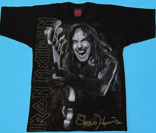 Iron Maiden   Steve Harris Special Collection T shirt NEW