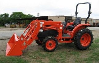 2012 ANSUNG 1950QB FRONT END LOADER FOR KUBOTA TRACTORS.