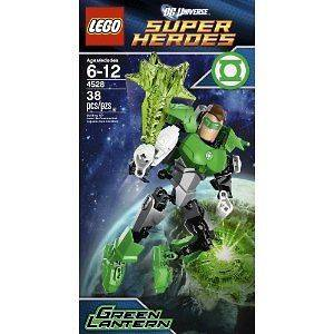 Super Heroes Lego Ultrabuild Green Lantern Building Set 4528 by LEGO