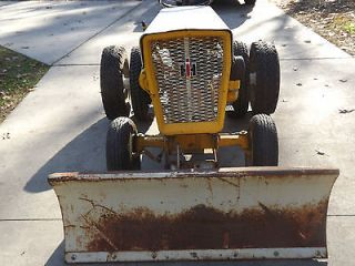 Newly listed 1961 IH Cub Cadet Original Tractor. Dual Wheels w/ Snow