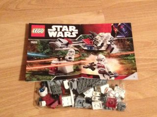 Lego Star Wars Episode III Clone Troopers Battle Pack (7655)