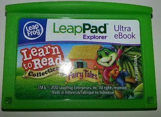 to Read Collection Fairy Tales Ultra E Book Leap Frog LeapPad Game