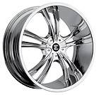 2Crave NO2 Chrome Wheels Rims 5x115 300C Charger Magnum Challenger