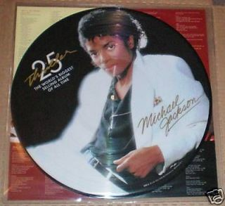 michael jackson picture disc in Records