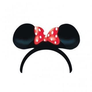 red polka dot minnie mouse party supplies