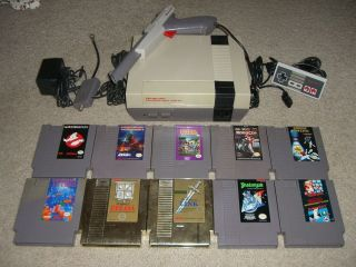nintendo nes system lot in Video Game Consoles