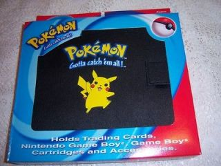 Pokemon Gamer Kit Trading Card Binder Holds Nintendo Game Boy Games