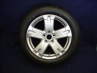 TOYOTA RAV4 06 12 18 5 SPOKE SILVER/MACHINED ALLOY WHEEL & TIRE   1
