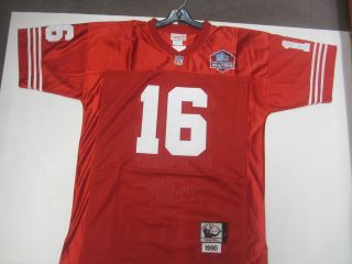 16 Joe Montana San Francisco 49er throwbacks jersey