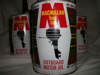 of Macmillan Royal Scot Outboard Motor Oil 32 floz SAE 30 un opened