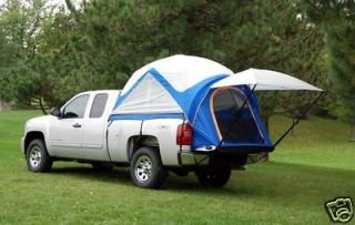 Full Crew Cab Ram Toyota Tundra Pickup Truck Bed Camp Tent 2 Man