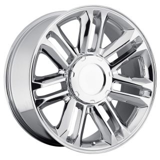 22 Cadillac Escalade Platinum Wheels Rims Set Chrome