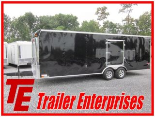 NEW 13 UNITED 8.5 X 24 ENCLOSED 10K CAR TRAILER W/ ESCAPE DOOR