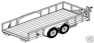 lowboy trailer in Business & Industrial