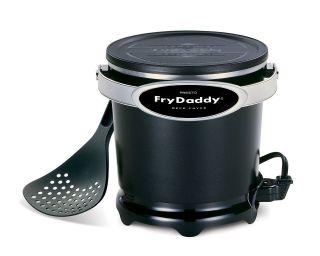 Presto 05420 FryDaddy Electric Deep Fryer BLACK  NIB FRY
