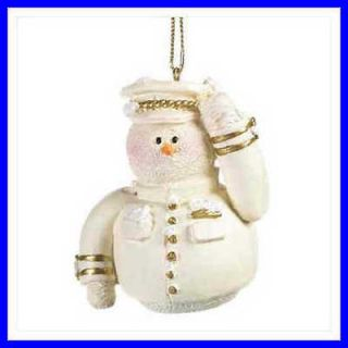 Snowberry Cuties AIR FORCE Figurine Christmas Ornament